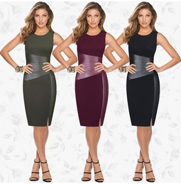 Summer Women Sleeveless Bandage Bodycon Evening Party