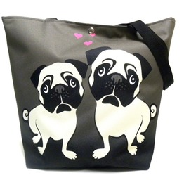 Magnetic Snap Fastener Bag With Pugs
