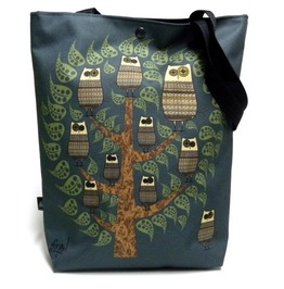 Bag With Owl Tree