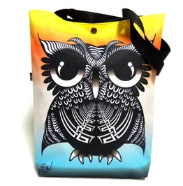 Bag With Rainbow Owl
