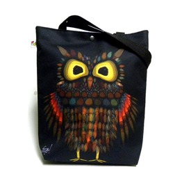Bag With Owl Pattern