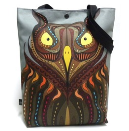 Bag With Angry Owl