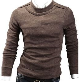 Full Sleeve O Neck Solid Casual Mens Sweater Top