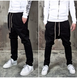 Neat Black Span Sweatpants 254