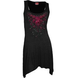 Gothic Blood Rose Dress Top Camisole Goth Bottom