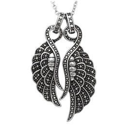 Angelique Couple Wings Necklace