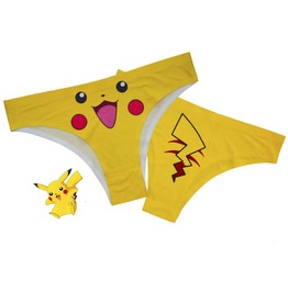 Pokemon Underwear Set Of 4 Pikachu, Squirtle, Charmander, Bulbasaur