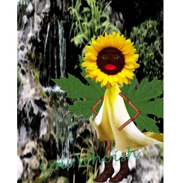 Sunflower Fairy Mixed Media