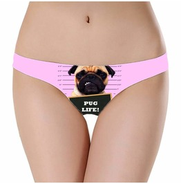 Pug Life Special Thong Perfect Birthday Present Limited Edition