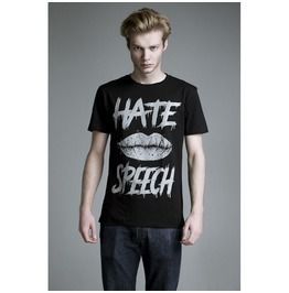Men's Anti Hate Speech Tee