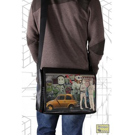 "Messenger Style Bag ""Student"" Hitch Print"