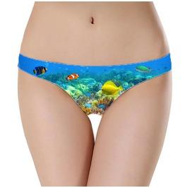 Underwater Underwear Reef Clothing Fish Clothes Coral Reef Undies