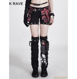 Two Piece Set Detachable Punk Style Pants For Women K 097