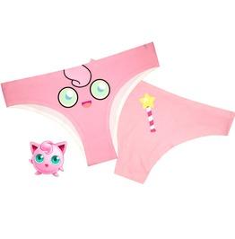 2017 Pokemon Underwear Set Of 4 Jigglypuff Snorelax Gengar Eevee