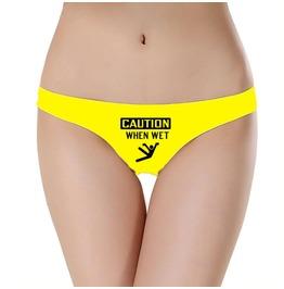 Birthday Present Hen Party Novelty Underwear Funny Panties Wet Und