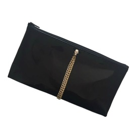 Black Patent (High Gloss) Make Up / Cosmetics Bag