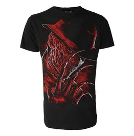 Freddy Krueger T Shirt Never Sleep Again Goth Emo Horror Alternative