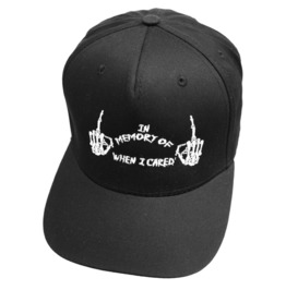 In Memory Snapback Cap Biker Goth Alternative Skater Baseball Hat