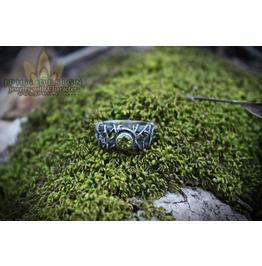 Custom Silver Filigree Reclaimed Vine Engagement Ring