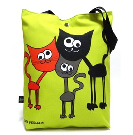 Bag With 3 Cats