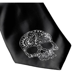 Tattoo Skull Tie