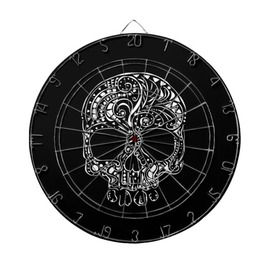 Tattoo Skull Profiled Ink Dart Board