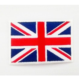 Union Jack Flag /Flag Of The United Kingdom Iron On Patch.