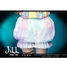 Lolita Jellyfish Princess Bubble Gum Pastel Colour Bloomer Shorts Jj2003
