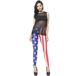 Usa Flag Leggings Pants