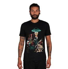 Alien T Shirt Ufo T Shirt Grunge Clothing Magic Mushroom