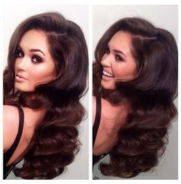 Dark Brown Beauty Ombre Full Lace Wig Part Anywhere 20 22 Inches!!