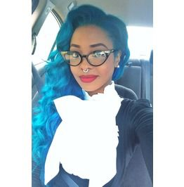 Blue Beauty Ombre Full Lace Wig Part Anywhere 20 22 Inches!!