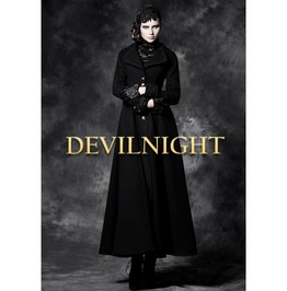 Black Long Sleeves Vintage Gothic Long Coat For Women Ly 043