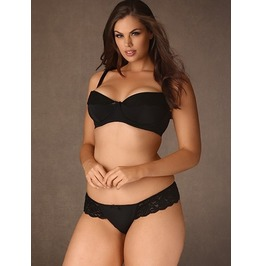 Plus Size Layla Microfiber Thong