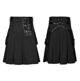 Punk Rave Men's Cross Kilts Q319