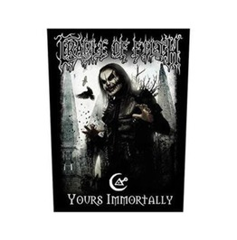Cradle Of Filth Back Patch Official Yours Immortally 28.5 Cm X 35 Cm