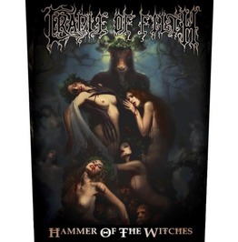 Cradle Of Filth Back Patch Official Hammer Of The Wiches 28.5 Cm X 35 Cm