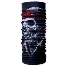 Skull Print Scarf V1