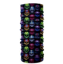 Skull Print Scarf V5
