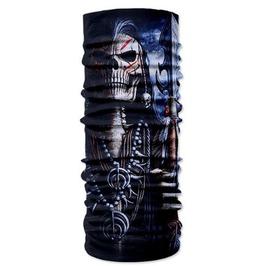 Skull Print Scarf V8