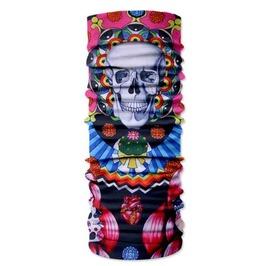Skull Print Scarf V15