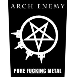 Arch Enemy Back Patch Official Pure F*****G Metal