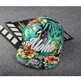 Spring Mixed Color Street Hip Hop Cap Aloha Baseball Hat Shading Cap