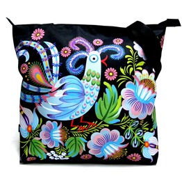 Zipped Bag With Bird