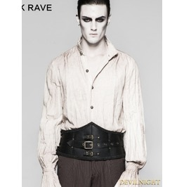 Black Gentleman Steampunk Girdle Accessories For Men S 209