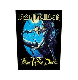 Iron Maiden Back Patch Official Fear Of The Dark 29 Cm X 35 Cm