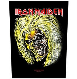 Iron Maiden Back Patch Official Killers Eddie 29 Cm X 35 Cm