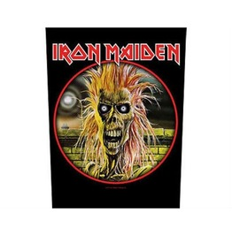 Iron Maiden Back Patch Official Ist Album 29 Cm X 35 Cm