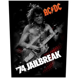 Ac/Dc Back Patch Official 74 Jailbreak 28.5 Cm X 35 Cm