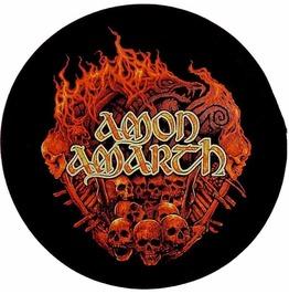 Amon Amarth Back Patch Official Battlefield 29cm X 29cm